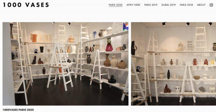1000vases at Paris 出展のお知らせ